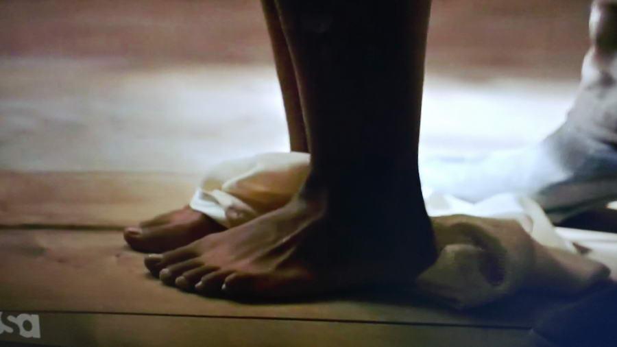 Chasten Harmon Feet