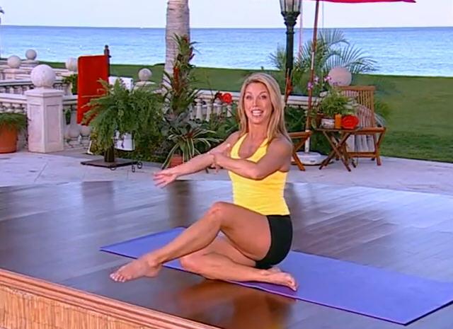 Denise Austin Feet