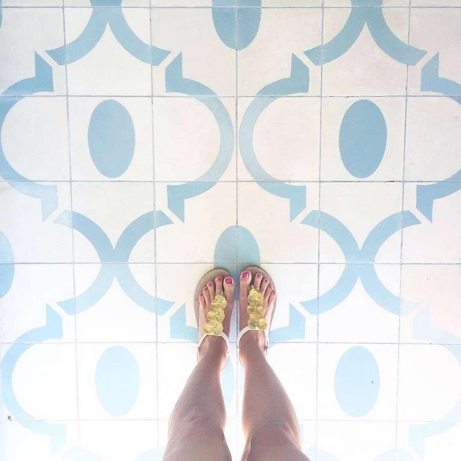 Mia Parres Feet