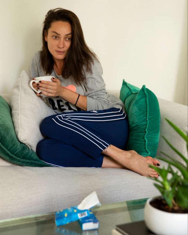 Anna Aronov Feet