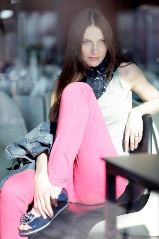 Iva Fruhlingova Feet
