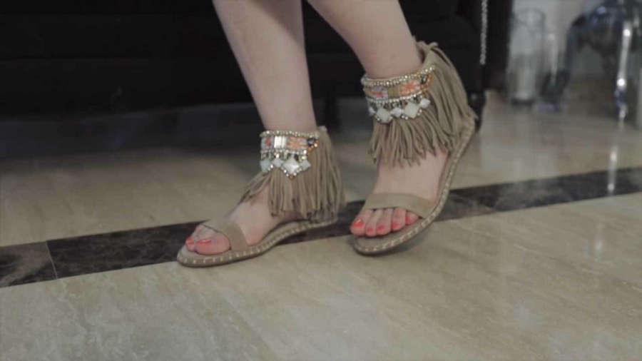 Vanessa Romero Feet