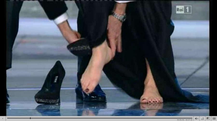 Geppi Cucciari Feet