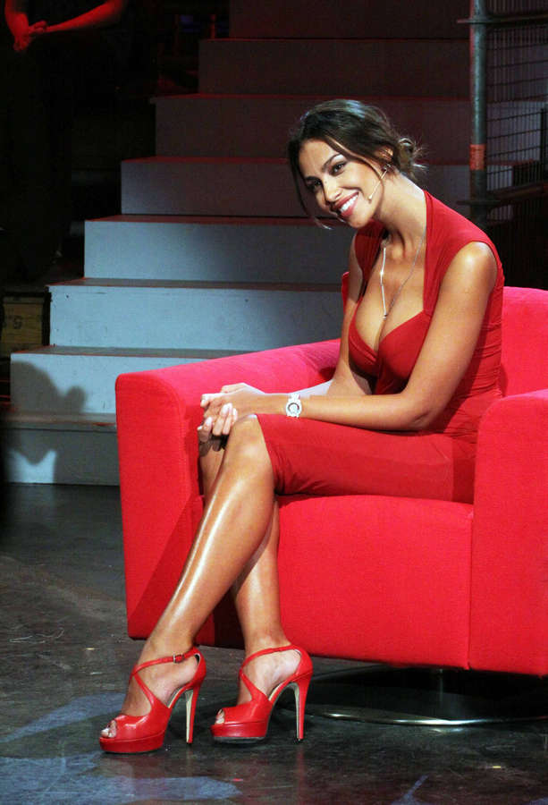 Madalina Ghenea Feet