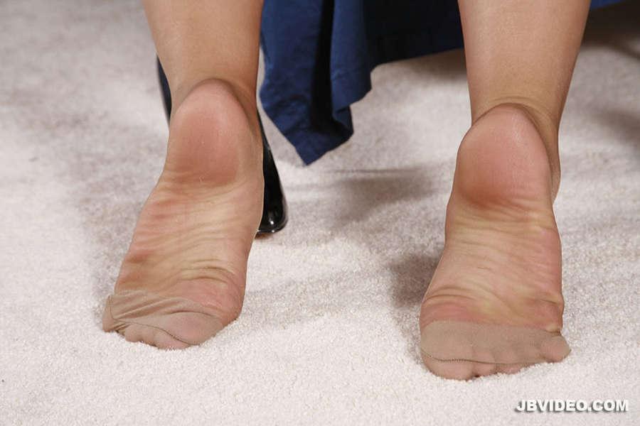 Georgia Peach Feet