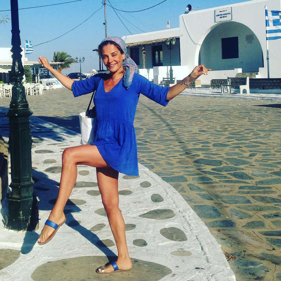 Dimitra Matsouka Feet