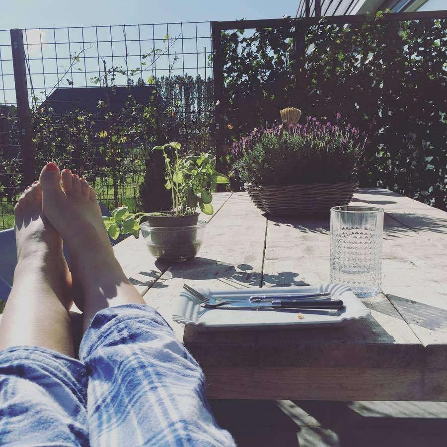 Marly Van Der Velden Feet