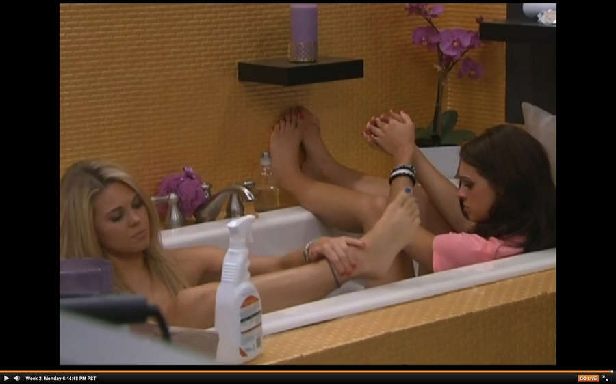 Aaryn Gries Feet