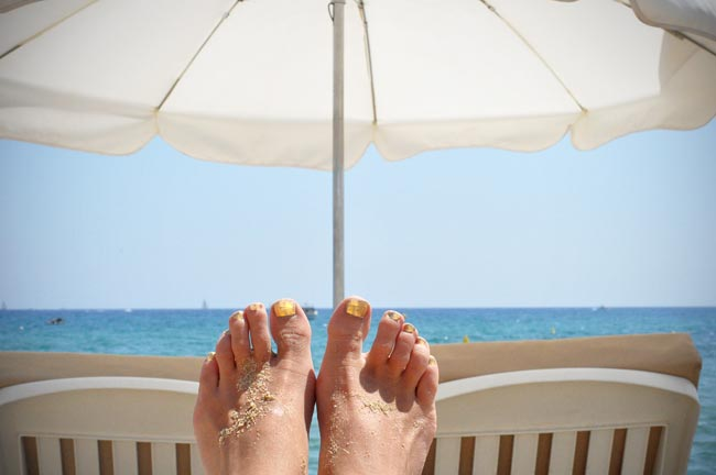 Frida Fahrman Feet