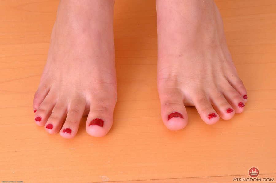 Gina Valentina Feet