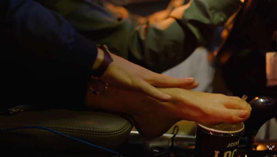 Romane Recalde Feet