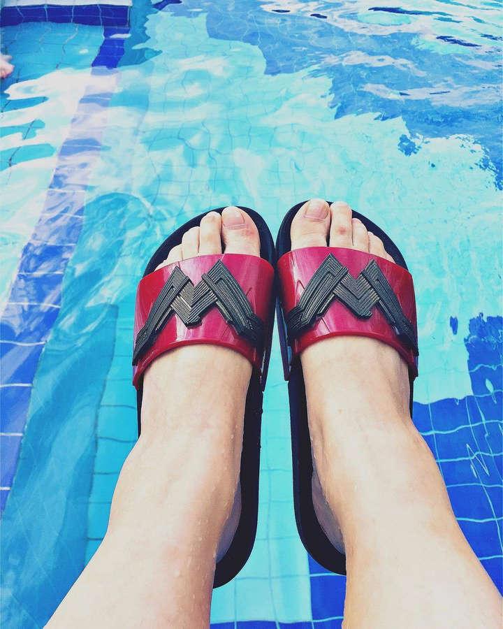 Flavia Gasi Feet
