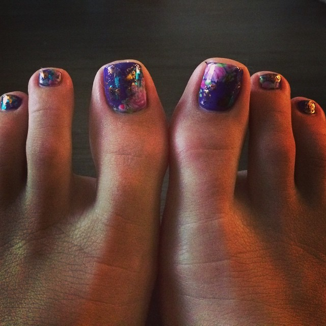 Lili Simmons Feet