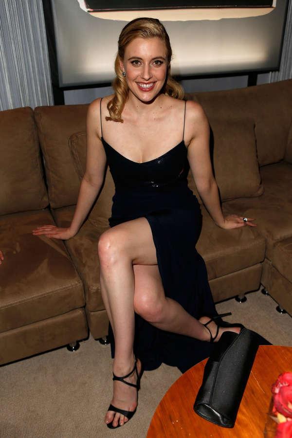 Greta Gerwig Feet
