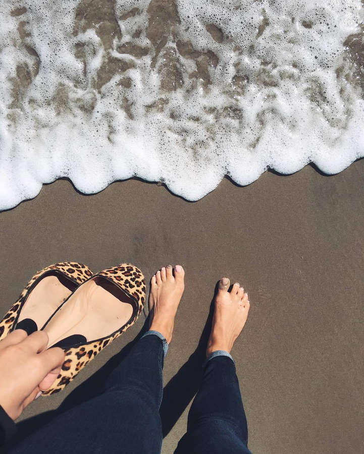 Savvy Shields Feet