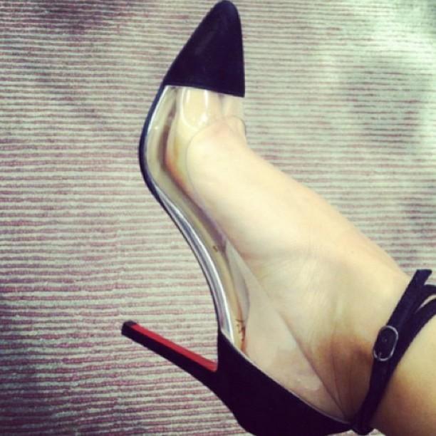 Myriam Fares Feet