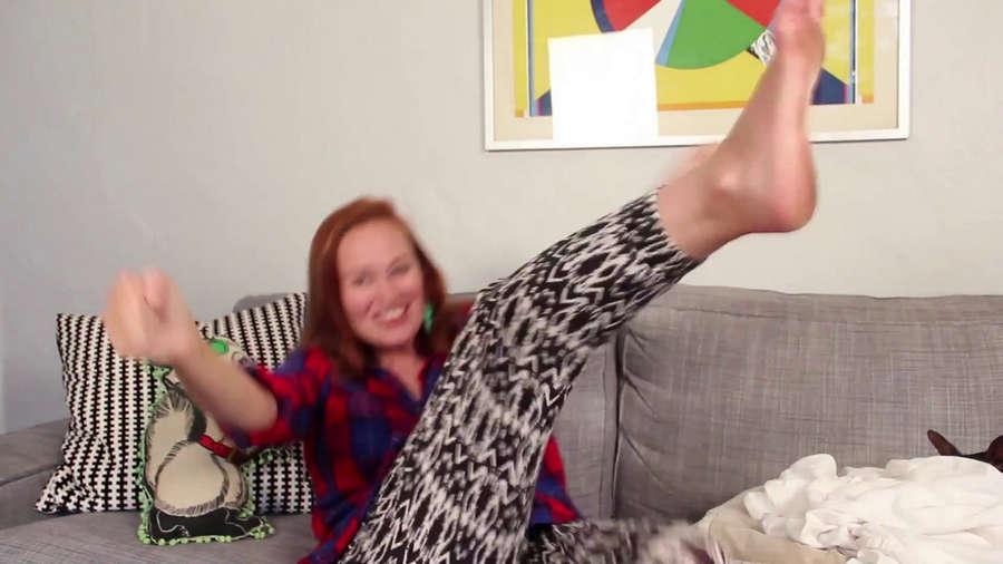 Mamrie Hart Feet