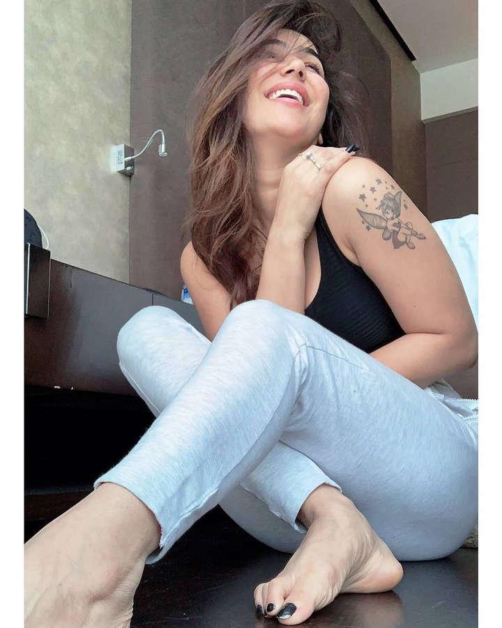Kangna Sharma Feet