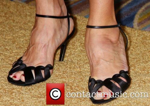 Nancy Travis Feet