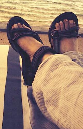 Melissa Etheridge Feet
