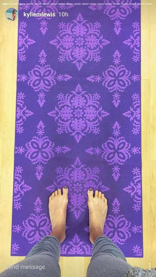 Kylie Lewis Feet