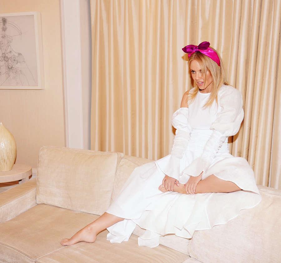 Kylie Minogue Feet