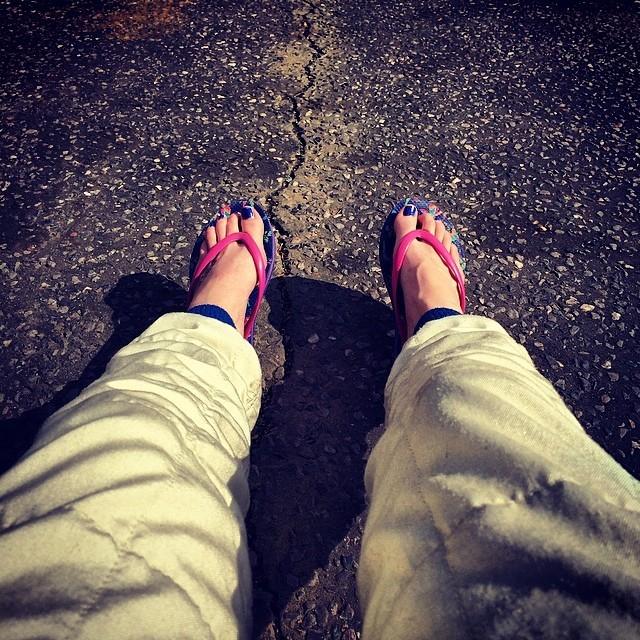 Abbie Eaton Feet