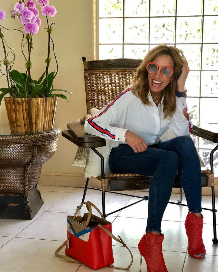 Lili Estefan Feet