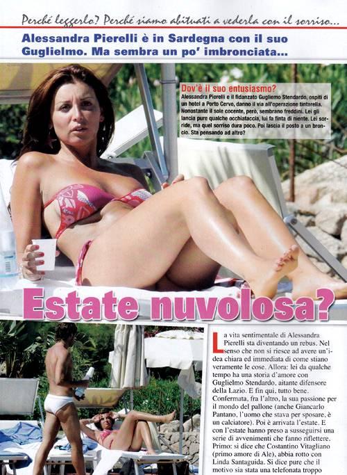 Alessandra Pierelli Feet