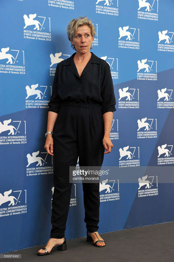 Frances McDormand Feet