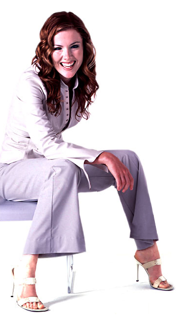 Kathleen Robertson Feet