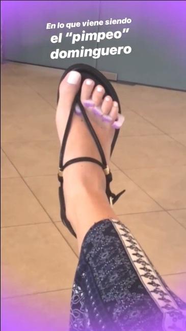 Sylvia Saenz Feet