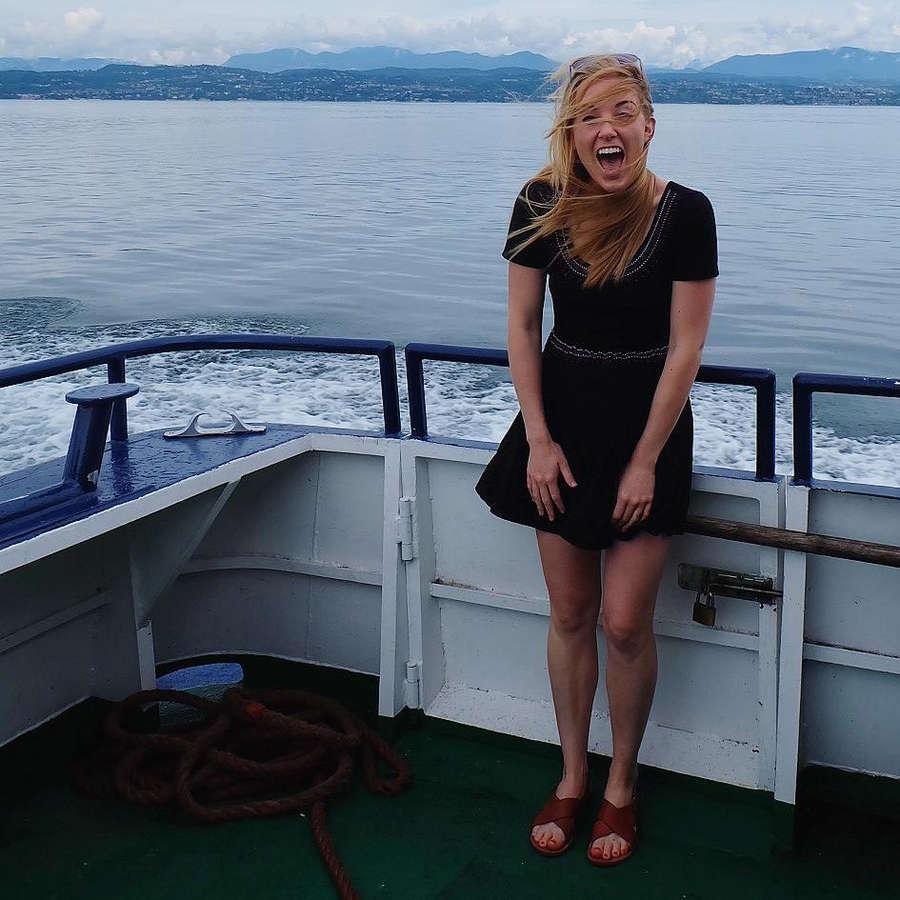 Maddie Moate Feet
