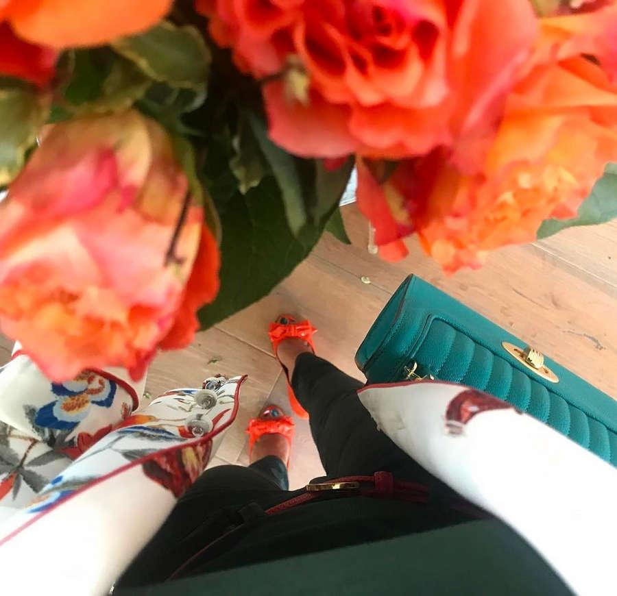 Reem Kherici Feet