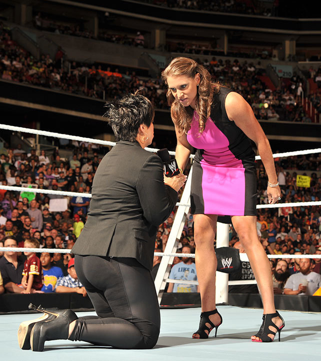 Stephanie McMahon Feet