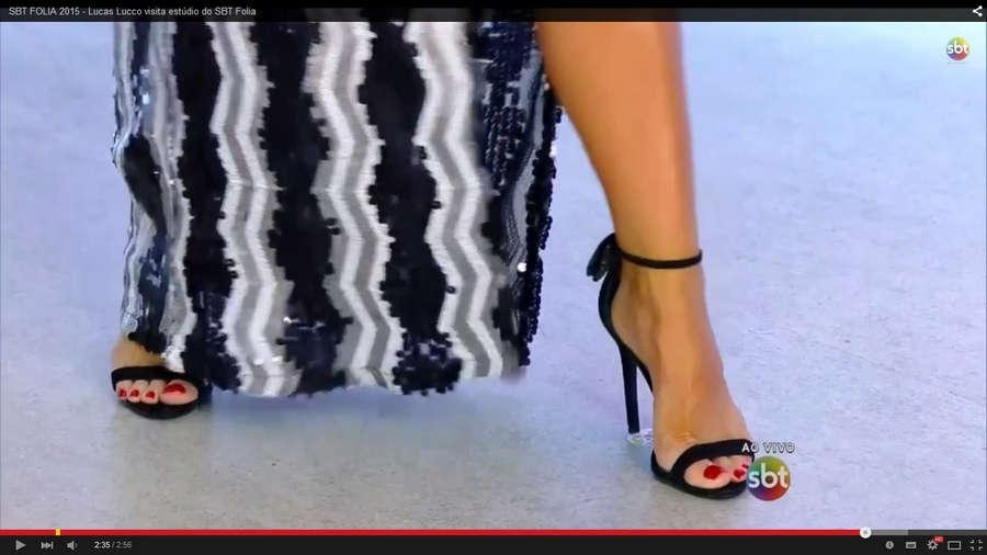 Helen Ganzarolli Feet