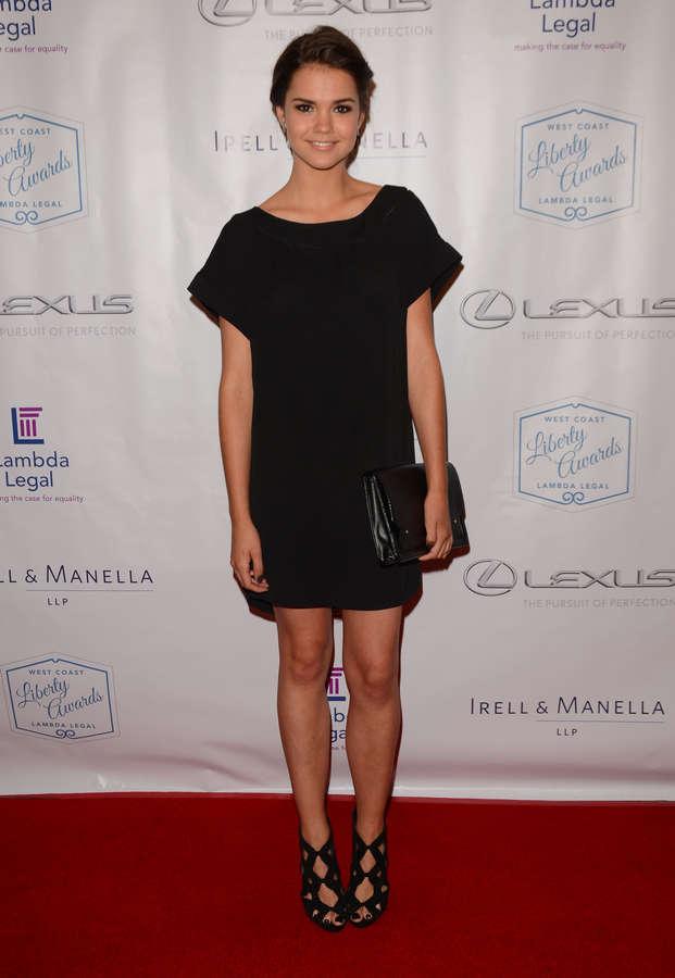 Maia Mitchell Feet