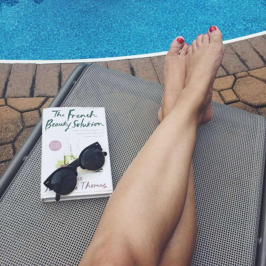 Maria Del Russo Feet