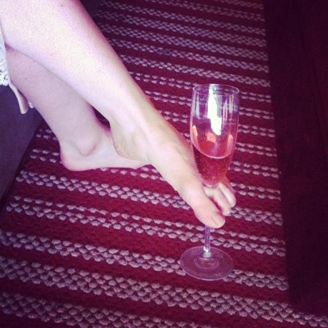 Tristan Risk Feet