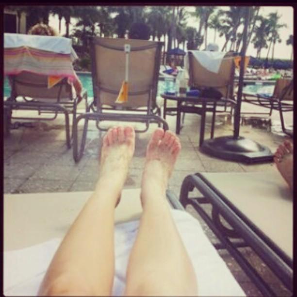 Juana Barros Feet