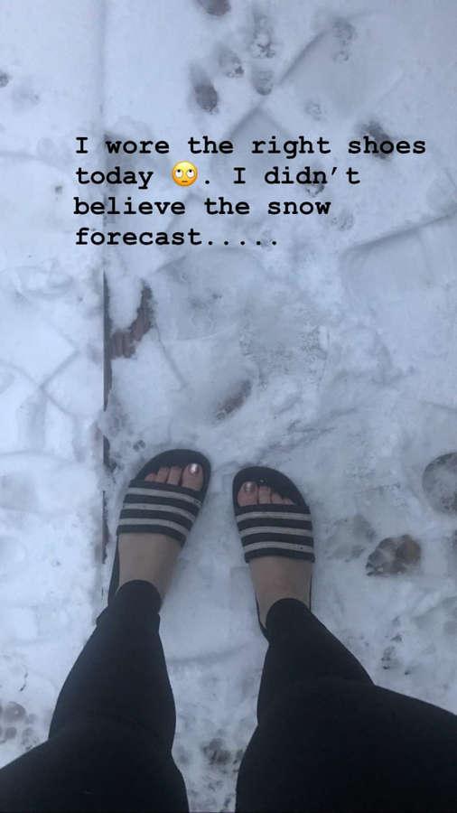 Chellsie Memmel Feet