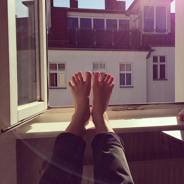 Miila Virtanen Feet