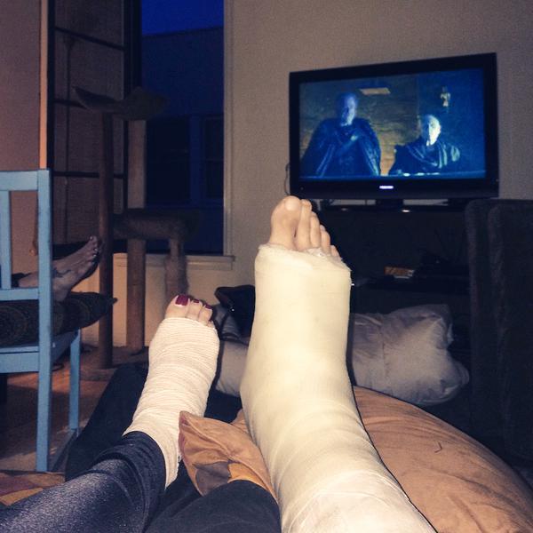 Annie Lederman Feet