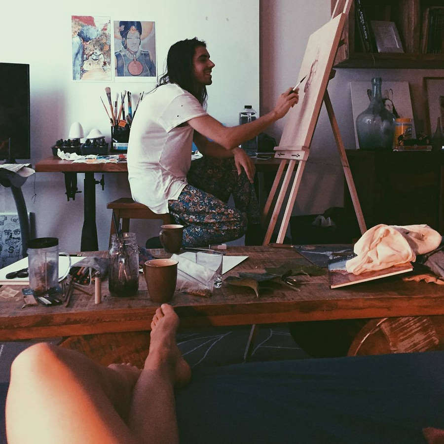 Sidney Leeder Feet