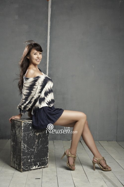 Jung Si Yeon Feet
