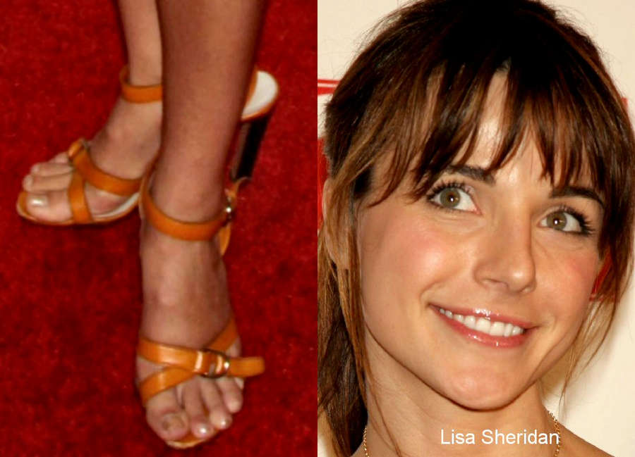 Lisa Sheridan Feet