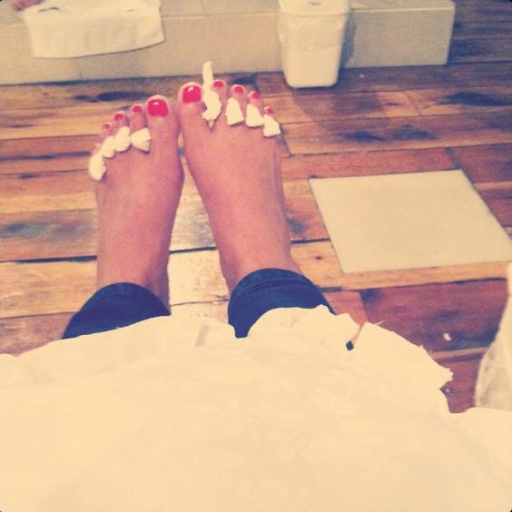 Veronica Portillo Feet