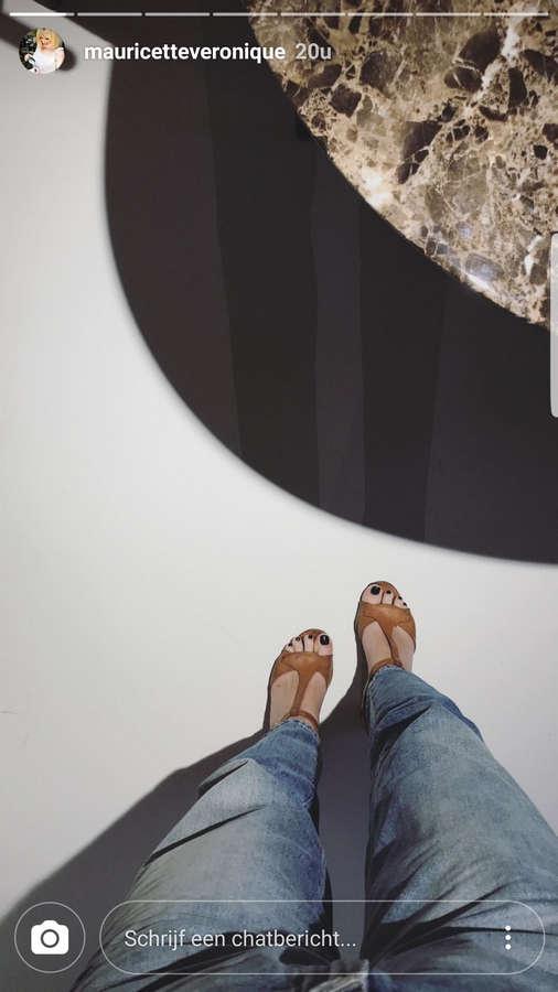 Veronique Leysen Feet