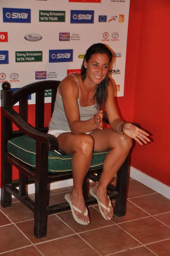 Flavia Pennetta Feet