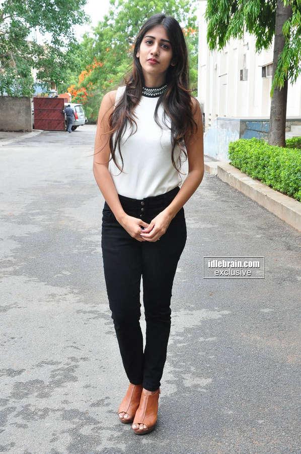 Chandini Chowdary Feet